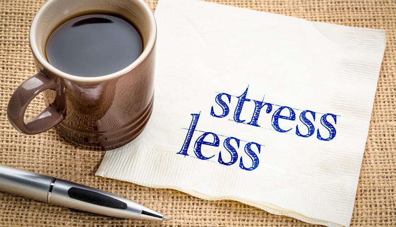 ストレスを減らすには